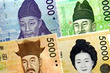 日本 ウォン 100 円 万