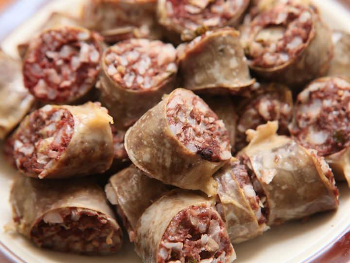 スンデ(豚の腸詰め)|韓国料理・...