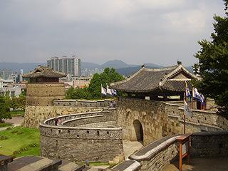 世界遺産・水原華城(午前)