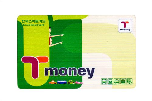 ワンタッチで乗り降り可能なT-money