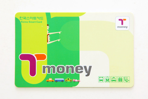 ワンタッチで乗り降り可能な「T-money」