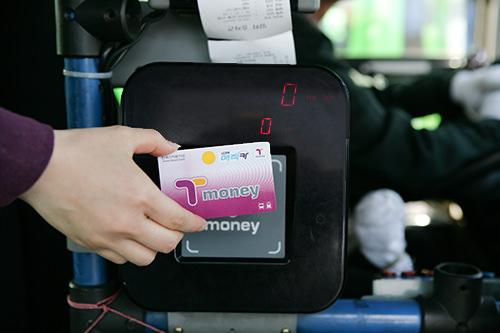便利なT-moneyカード
