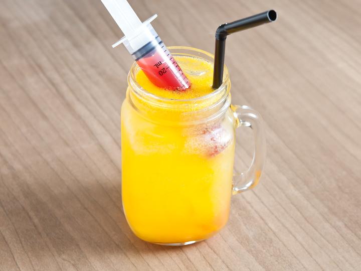 3. ケイトウ発酵液+フルーツシロップ ミカン 5,500ウォン