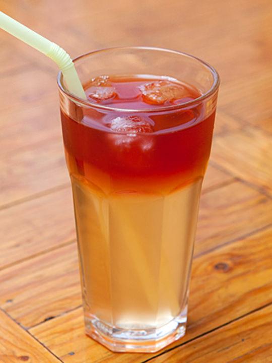 伝統茶カクテル