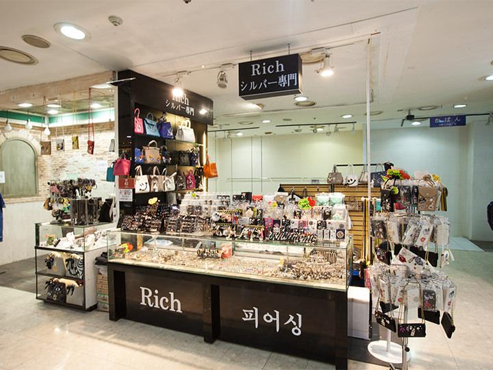 「ミリオレ明洞」2階に入店する「Rich 1号店」