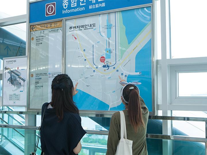 龍遊駅2番出口を出ればOK!