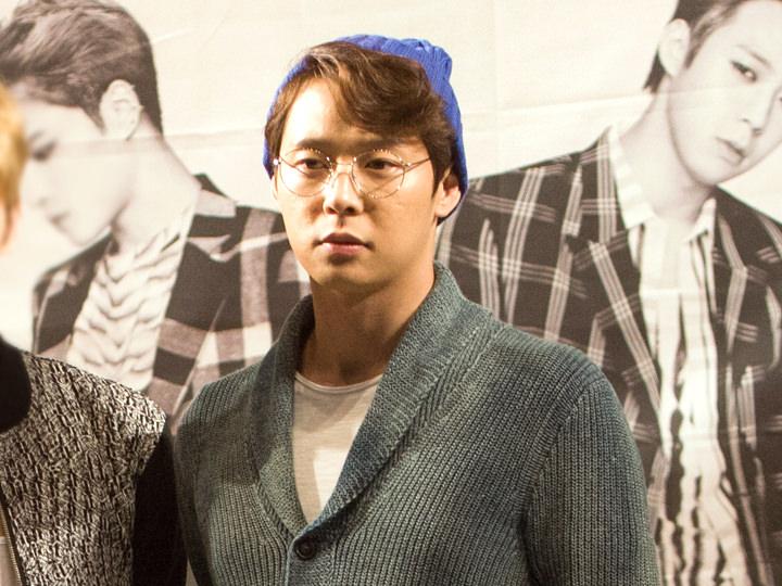 JYJのユチョン