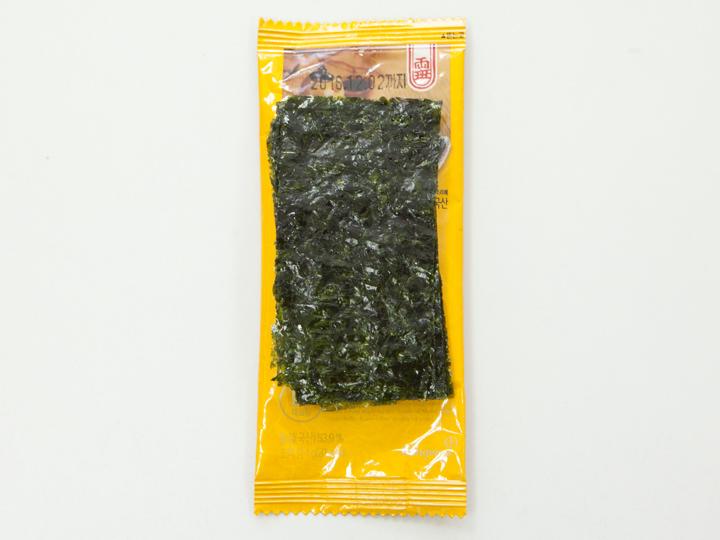 ドンウォン社「ヤンバン 岩海苔」の中身