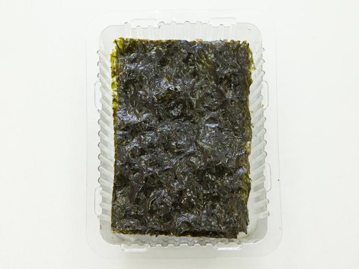 CJ第一製糖「ごま油で焼き香りが香ばしいとれたてのパリパリ海苔」の中身
