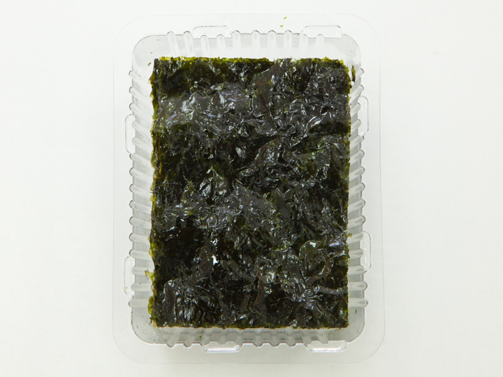 CJ第一製糖「エゴマ油で焼いて香ばしさが深いとれたてパリパリ海苔」の中身