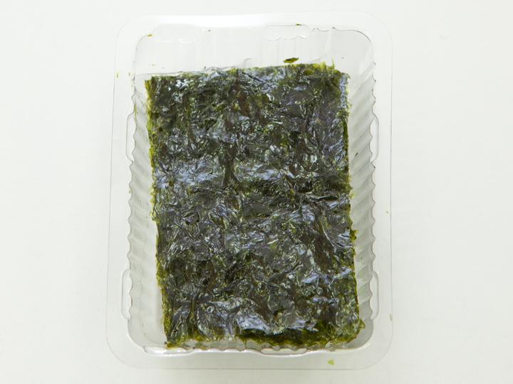 ソンギョン食品「地図印のソンギョン緑茶食卓海苔」の中身
