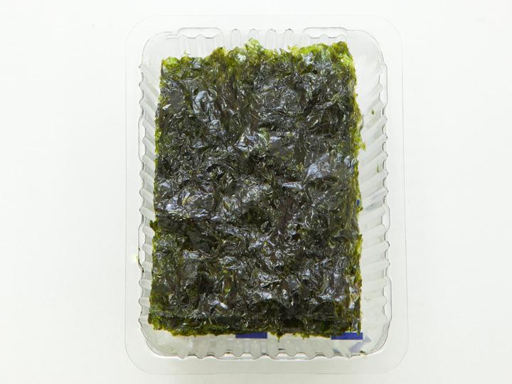 キョンチョン食品「海苔は田舎のエゴマ油海苔」の中身
