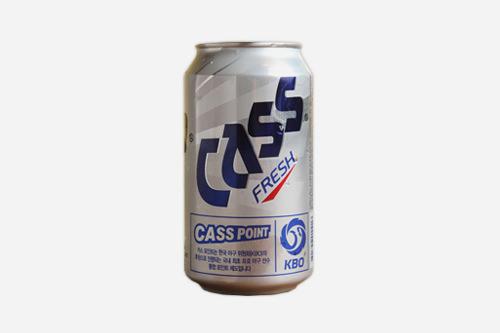 缶ビール355ml 1,800ウォン
