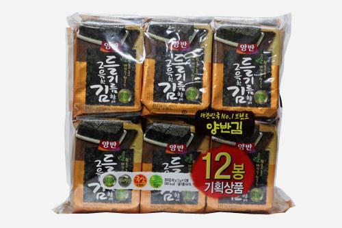 韓国海苔小分け12袋入り 3,800~5,000ウォン