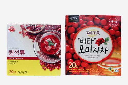 伝統茶粉末スティック20袋入り 3,700ウォン