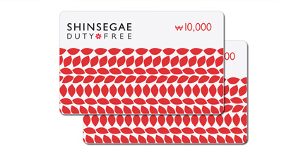 最大4万ウォンギフトカード進呈有効期限:2016年12月31日まで対象店舗:明洞店