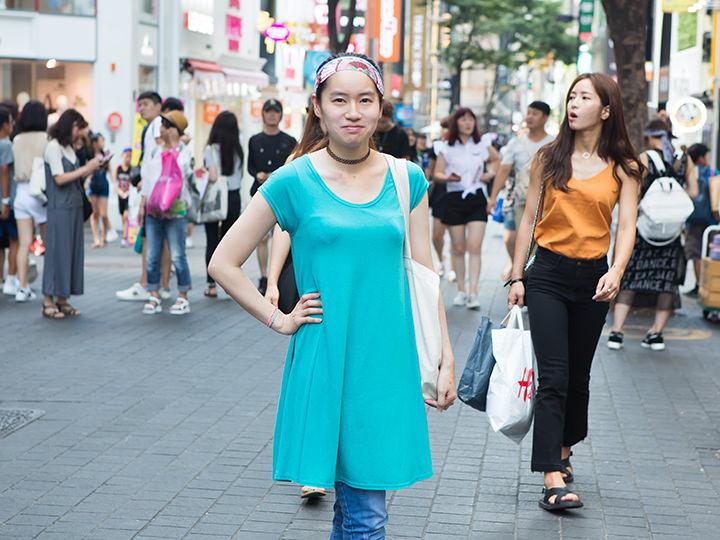 あきこ 韓国外国語大学一般大学院