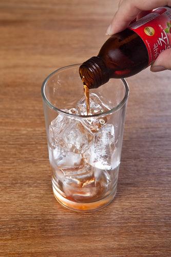 ポイント!紅酢を少量にするとかえってアルコールがきつく感じ飲みにくくなるので、少し多いかな?くらいがベスト!