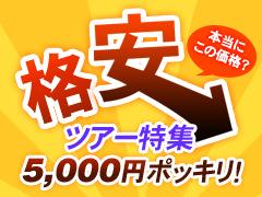 ひとり5千円以下 韓国格安ツアー特集