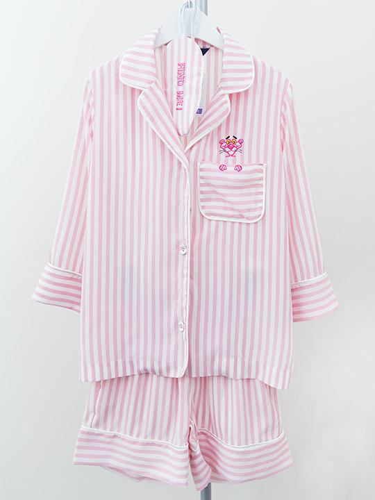 パジャマとアイマスクの3点セット、GOOD NIGHT ピンクパンサー 74,800ウォン