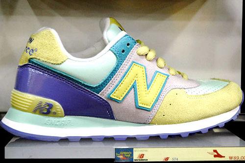 Shoe markerさわやかな配色