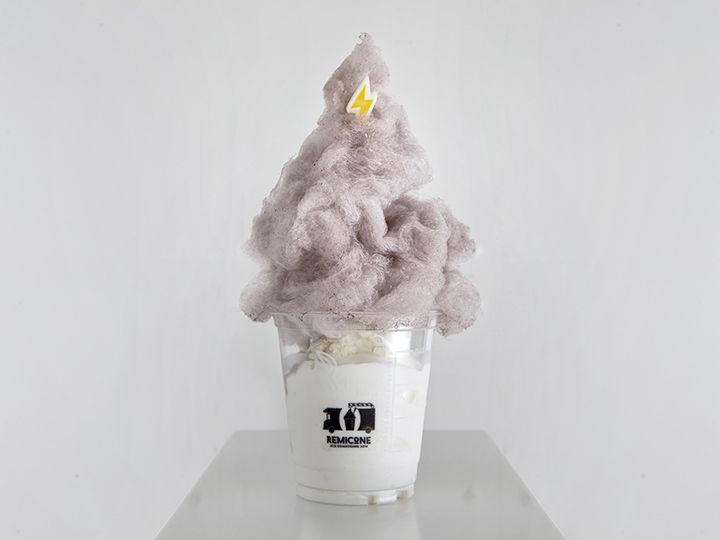 「DOOTA MALL」に入店する「REMICON(レミコン)」のわた飴アイス「サンダーボム」は、ぜひ写真におさめたい!