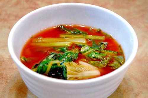 若菜の水キムチ