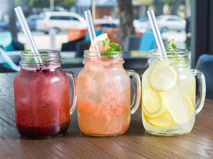 (写真左から)トリプルベリー、グレープフルーツ、レモン