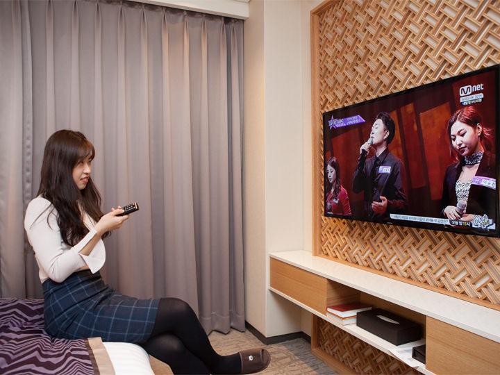 韓国の各種チャンネルはもちろん、日本の番組も視聴可能