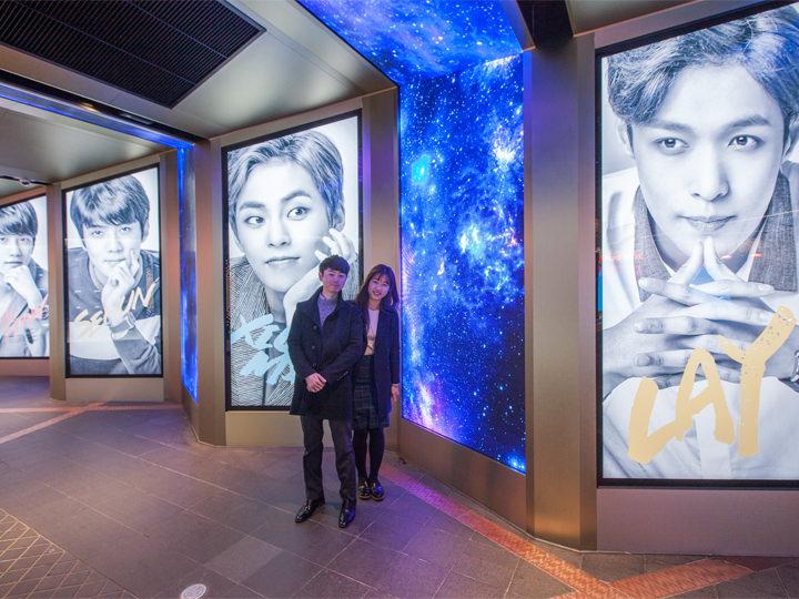 韓流スターグッズが展示されている「Star Avenue」も隣接