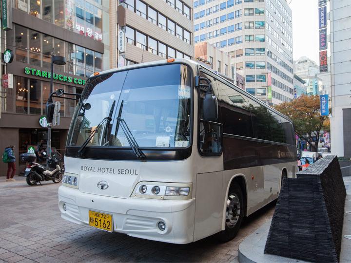 ホテル-金浦・仁川空港のシャトルバス