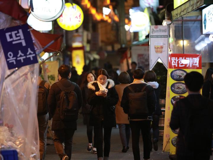 世宗マウル飲食文化通り下町情緒溢れる、景福宮横の知る人ぞ知るグルメ通り