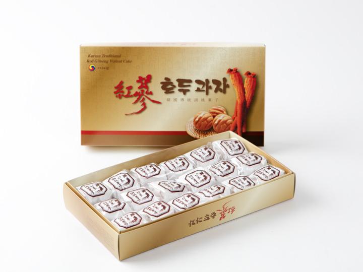 紅参アリランホドゥクァジャ 18個入り 15,000ウォン