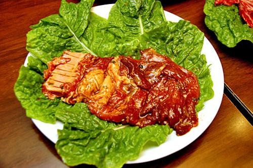 豚カルビ 1人分 10,000ウォン