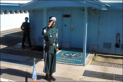 2004年より、半世紀ぶりに警備任務が韓国軍の手に移った。