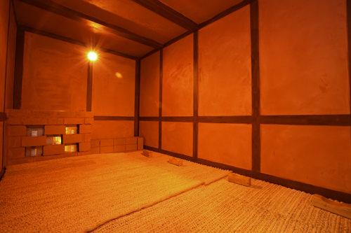 赤外線黄土部屋