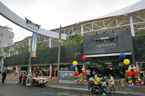 ソウル風物市場(蚤の市)