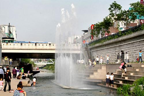 五間水橋(オガンスギョ) 地図番号:緑4