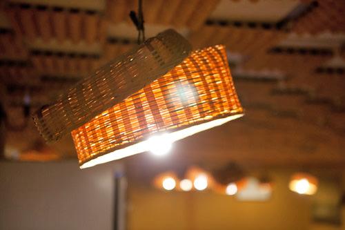 温かみのある照明