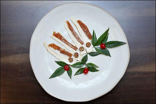 高麗人参の料理。健康にもいい高級な高麗人参を贅沢に味わえます