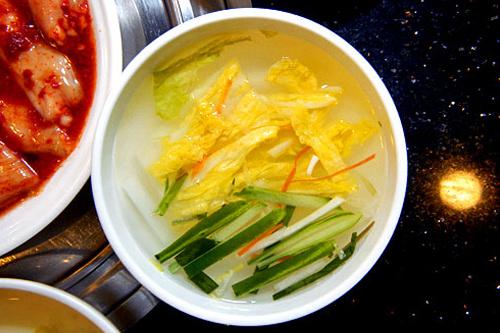 白菜の水キムチ