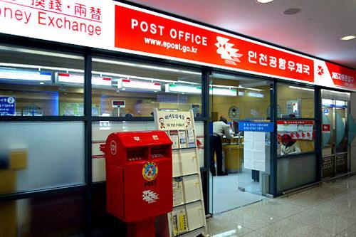 郵便局2階