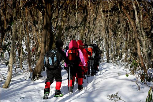 アジョシ・アジュンマたちの登山客