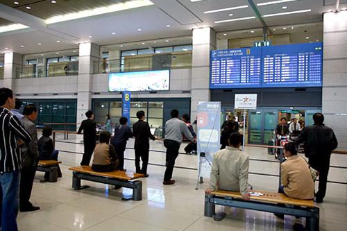 仁川空港到着ロビー