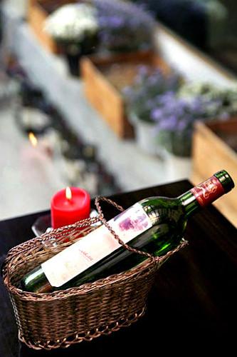 お酒が飲める先生にワイン