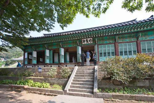 朝鮮時代に地方行政が行なわれていた江華留守部 東軒