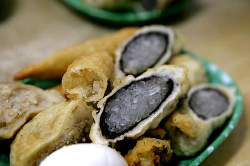 キンマリ(海苔巻天ぷら)
