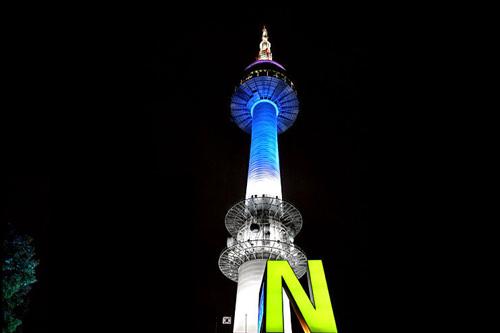 Nソウルタワー(ホテルよりタクシーで約15分)