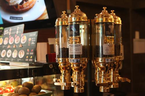 世界各地のコーヒー豆を選択