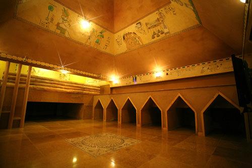 黄土ピラミッドの部屋